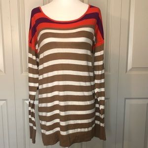 Old Navy Striped Cardigan Sweater